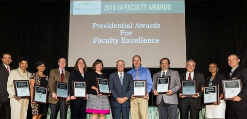 Faculty Awards for Excellence recipients