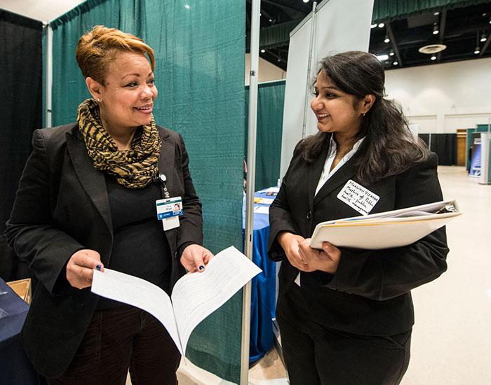 Career Fair in Student Union