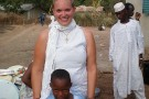 Corinna Lawrence in Doune,Guinea