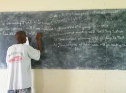 English classroom practice