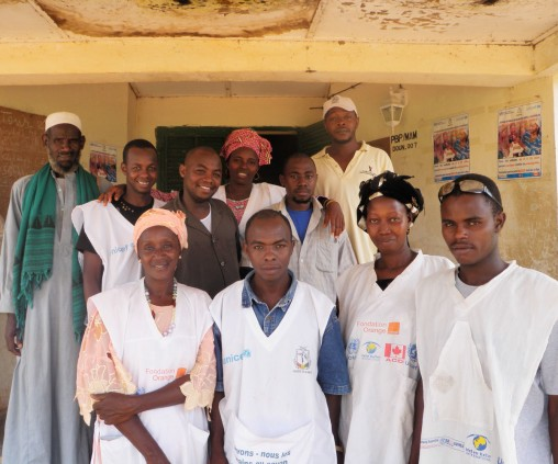 Health clinic in Doune,Guinea