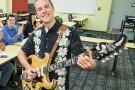 Joe Tritschler with guitar
