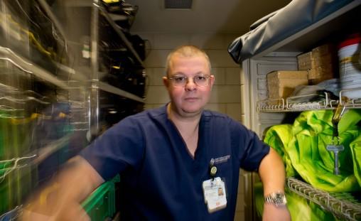 ER nurse Jon Reichman