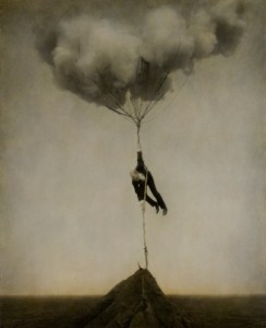 """Tethered Sky"" (2005, photogravure) Aileron Company Collection, courtesy of Robert and Shana ParkeHarrison"