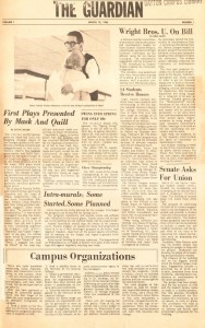 March 19, 1965, Guardian front page