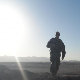 Army Reserve Sgt. Adrian Hill in Afghanistan in 2013.