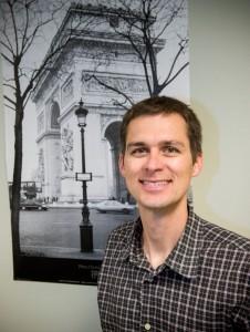 French instructor Benjamin Hirt