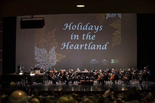 Holidays in the Heartland stage