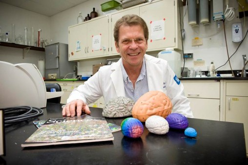Jim Olson in his lab