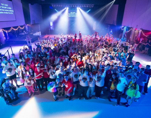 Raiderthon crowd