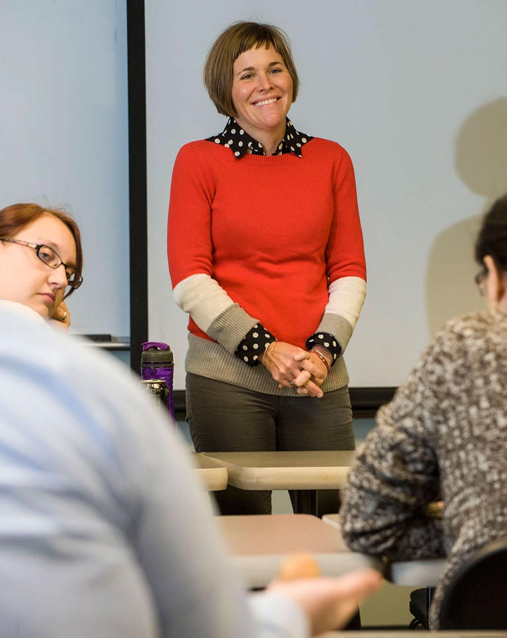 Sally Lamping Teaching