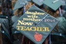 Teacher mortarboard