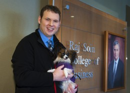 Brandon Yanak made the most of his college experience by serving his two loves: accounting and animals.