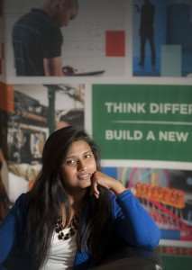 Shweta Chauhan bet on herself and finished at the top of her class.