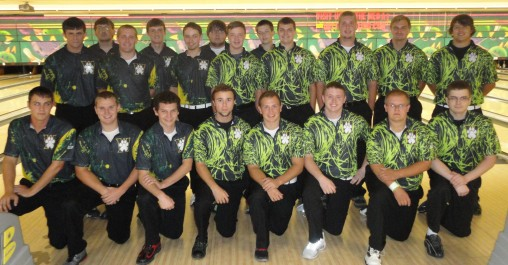 Men's bowling team