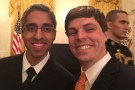 Surgeon General Vivek Murthy and William Elder Jr.