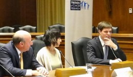 Wright State Med student Bill Elder (right) shared his experience as a patient with cystic fibrosis to members of Congress in a briefing in Washington D.C. in 2013.
