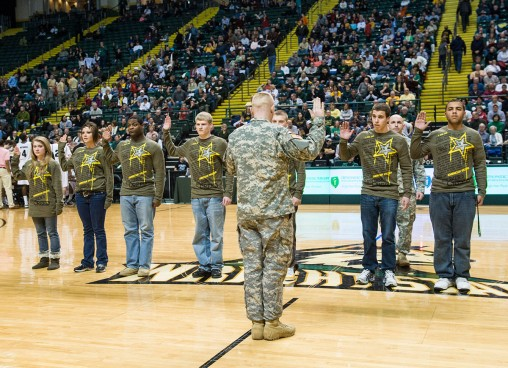 Military Appreciation Night at Nutter Center