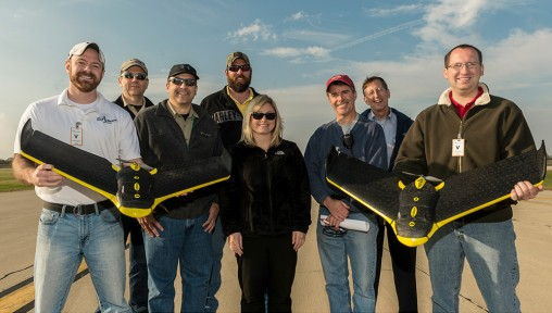 Wright State Research Institute UAS test flight