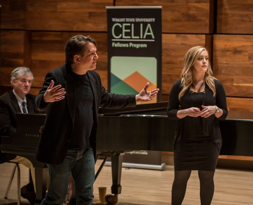 Keith Lockhart coaching Amanda Bessler