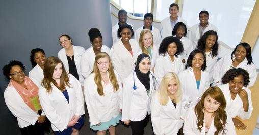 Horizons in Medicine students