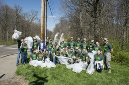 Wright State's Army ROTC will get dirty cleaning campus for Earth Day