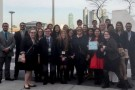 Model UN Team in New York