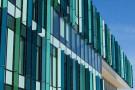 NEC Building glass fins