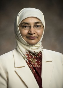 Naila Khalil, M.B.B.S., M.P.H., Ph.D., assistant professor of community health at the Wright State University Boonshoft School of Medicine Center for Global Health.