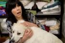 Regina Willen with dog