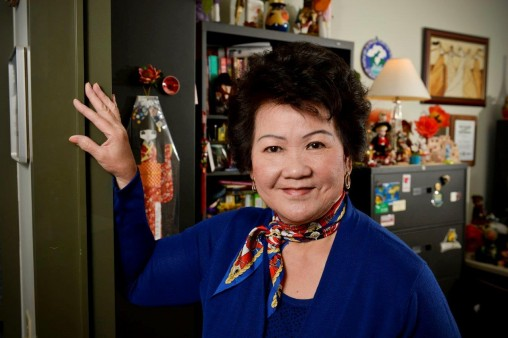 Mai Nguyen in her office