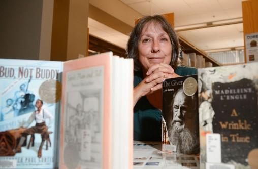Stephanie Bange with books