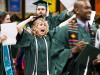 Spring commencement in photos