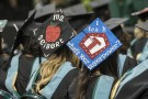 Education mortarboards