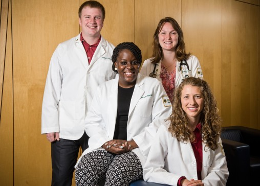 Boonshoft School of Medicine Family Interest Group students