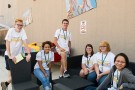 Business campers at Scene 75