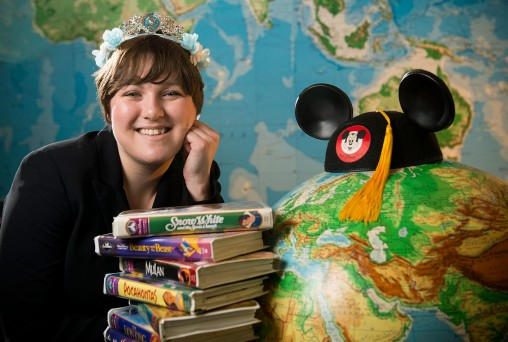 Alissa Peppo with Disney items