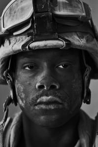 U.S. Marine Cpl. Philip Pepper age 22, Forward Operating Base Apache North, Garmsir, Helmand, Afghanistan. Photo © Louie Palu