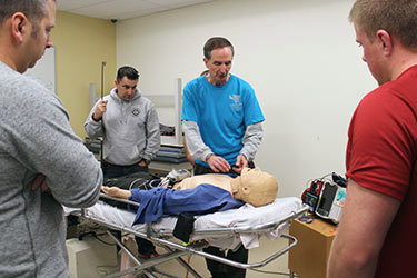 The Cadaver Anatomy Procedure Lab on Dec. 2 and 3 will teach emergency medical services personnel about human anatomy and basic and advanced prehospital procedures.