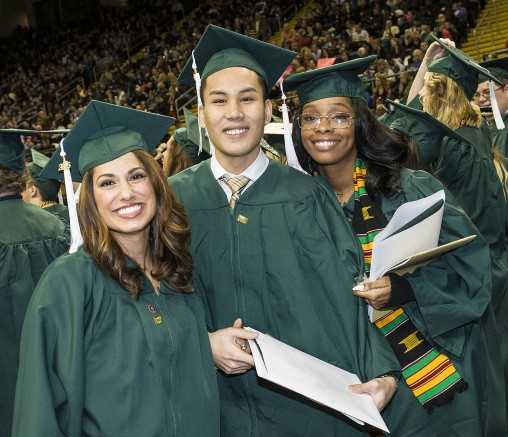 Fall 2015 commencement in photos