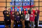"Emily Bingham was among the 15 contestants competing in the ""Jeopardy! College Championship,"" which was filmed at Sony Pictures Studios' Stage 10 in Culver City, California."