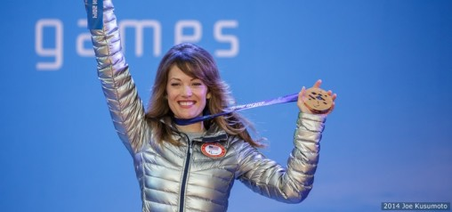 Amy Purdy, who won a bronze medal in snowboarding in the 2014 Paralympic Games in Sochi, will give a Presidential Lecture at Wright State on Feb. 12. (Photo by Joe Kusumoto)