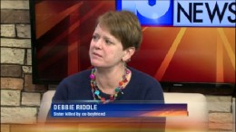 Debbie Riddle will share residency at Wright State from Jan. 19 to 20 to raise awareness of National Stalking Awareness Month.
