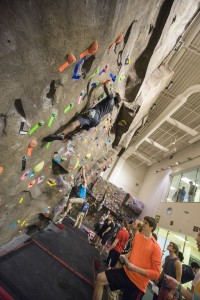 You can try Wright State's climbing wall in the Student Union during the Adventure Summit.