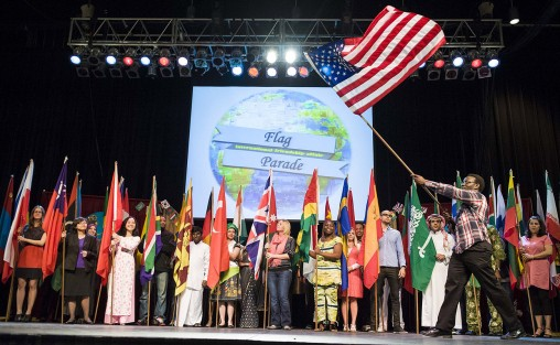 Wright State's University Center for International Education will host the 32nd International Festival on April 3 from  1 to 5 p.m. in the Nutter Center.
