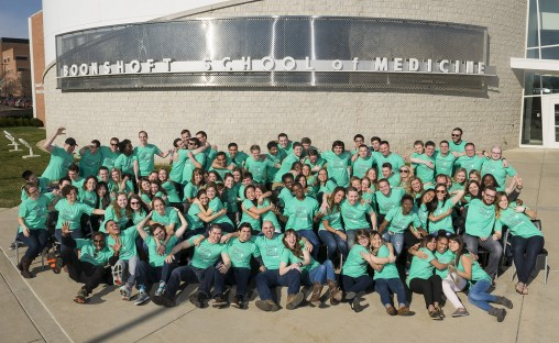 Wright State Boonshoft School of Medicine students matched in outstanding programs in Dayton, throughout Ohio and across the country. (Photos by Will Jones)