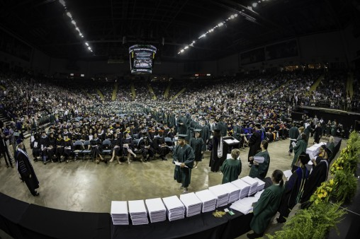 Wright State President Hopkins urges graduates to serve others