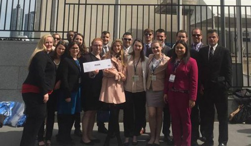 Wright State received a Distinguished Delegation award at the National Model United Nations Conference March 27-31.