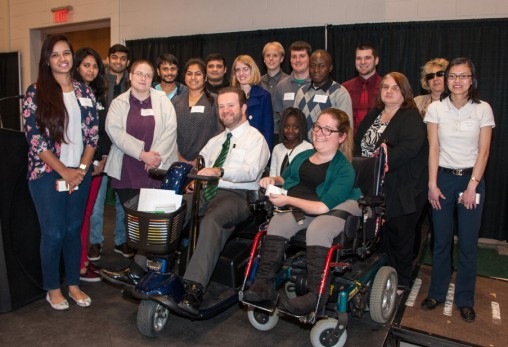 The Office of Disability Services recognized graduating students, student employees and faculty and staff during its annual Scholarship and Graduation Reception.