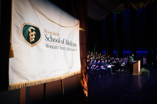 Wright State Boonshoft School of Medicine holds commencement ceremony on May 27